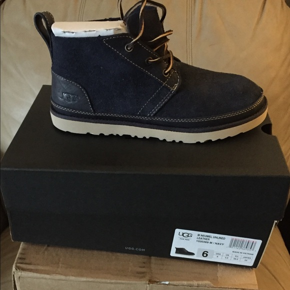 c7387146298 Ugg Neumel Unlined Leather Boot NWT